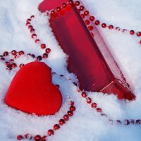 red on ice by Elasias