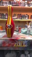 49er's Bowling Pin by hardart-kustoms
