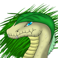 Forest Snake (commision) by Tomek1000