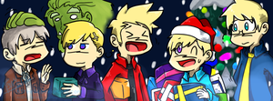 Nordic 5 Holiday Facebook Banner (FREE to use) by NSYee36