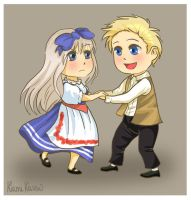 APH: Let's dance polka by momofukuu