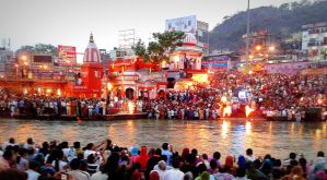 Ganga Aarti- Haridwar by The--Dark--Knight