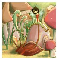 Queen of Snails by mystcloud