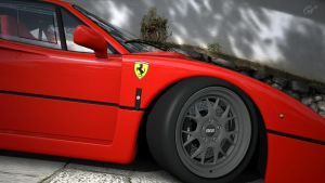 Ferrari F-40 tires, BBS by DjCaDiR
