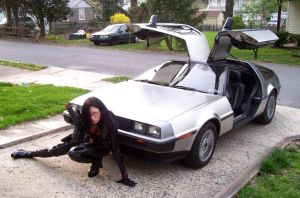 Baroness has a DeLorean 3 by Raggletag