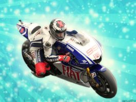jorge lorenzo by arselife
