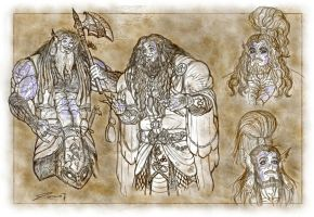 TCoRO Sketches IV by zorm