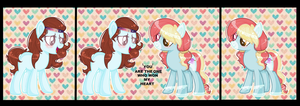 YOU ARE THE ONE WHO WON MY HEART by ZahraaaljaroodiXX