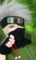 Hatake Kakashi-Let's play? by Ranbu-kun