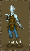 Genasi Artificer by Cheesedemon88