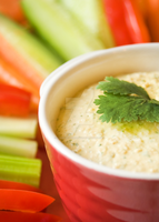 Lemon and Coriander Hummus by iconsPhotography