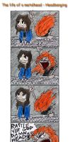 Metalheads life: Headbanging by the-ChooK