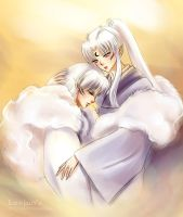 Mother and Son by leejun35