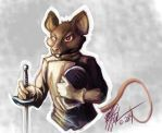 Fencing Mouse by MPFitzpatrick