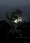 Tree Monster - Monster 4 by Vyoma