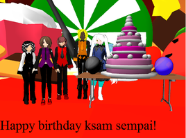 Happy Birthday ksamjr0036! by Digelfox