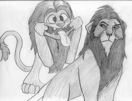 The Lion..... king? by Isa-san
