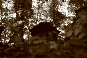 Old headstone by Criosdan