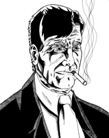 This Smoking Man by KingVego