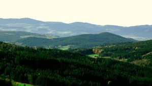 rolling country by Mittelfranke