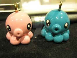 1st Octopi Blue and Pink by Michi01