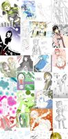 Doodle + Unseen Work compilation by Shortnime