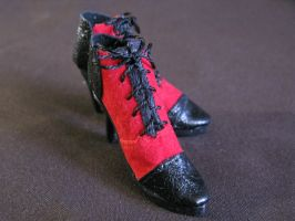 Shoes for Doll Grell Sutcliffe by zefforian