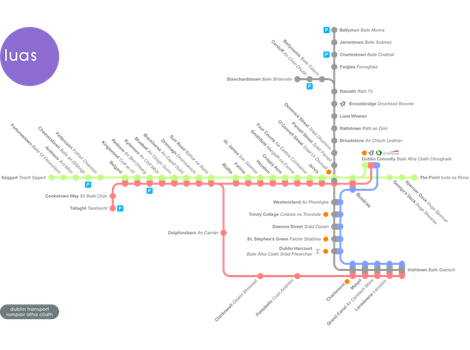 Luas Map (Fictionalised and Refreshed) by ArcelorJames