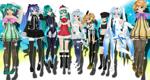 A Very Vocaloid Christmas by Imalune