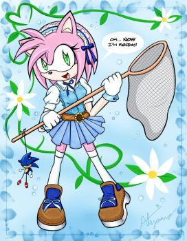:: Amy Redesign Entry by Neon-Nazo