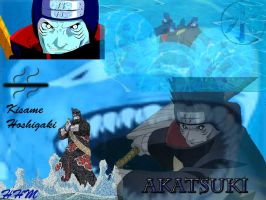 Kisame Akats Wallpaper by HakuHiddenMist