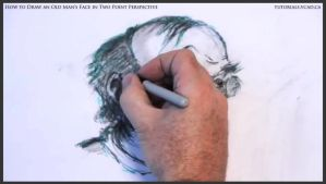 Draw An Old Man's Face In Two Point Perspective 42 by drawingcourse