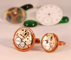 Handcrafted Steampunk Rings by Henri-1