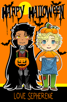 Halloween Good Omens Style by xxsymmetryxx