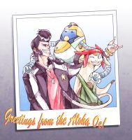 [SPACE DANDY] Family Photo by shmu-h