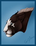 Bajanday Painted headshot for: by Maara-G