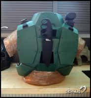 Marine Back View by ArmorCorpCustoms