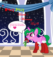 Happy Hearth's Warming Eve From Ultraviolet by Obeliskgirljohanny
