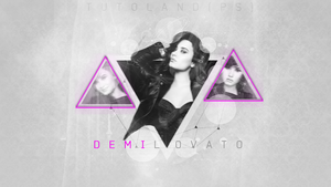 Wallpaper Demi Lovato by BratKatycatLBS