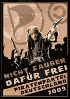 Piraten Propaganda by Moosbett