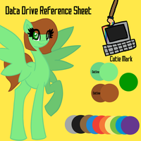 Data Drive - Reference Sheet by AlicornOverlord