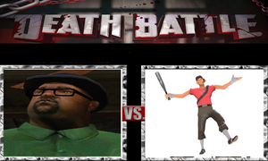 Scout Vs Big Smoke by katomatic22