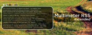 Multimeter RSS-extended by teejay3