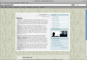 Personal Site 05 by haiderali