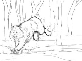 Lynx concept sketch by Alukei