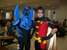 Robin and Blue Beetle!!! by nonis87