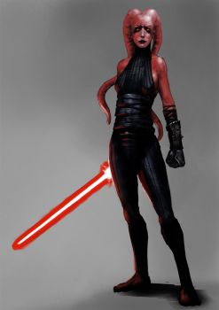 Sith Warrior by Seraph777