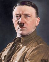 Colorization: Adolf Hitler by marinamaral