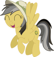 Daring Do happy by SnowflamePony
