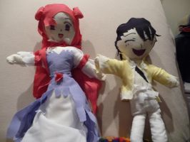 Ling and Euphie plushies by ShiyoriPhantomhive